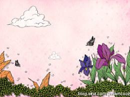 网页背景插画