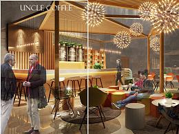 昆山安寇咖啡店设计