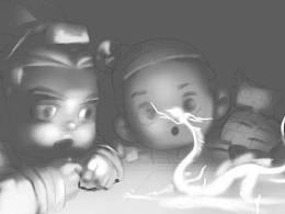 绘画福利|演义-秦风(龙抬头主题)CG绘画流程