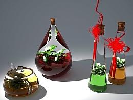 产品设计—— 插花吊瓶