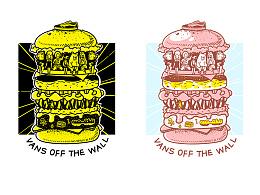 """[VANS]-""""堡""""罗万象,Tee图案设计参赛图"""