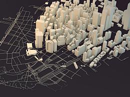 """""""城市系列"""" 城市三维系列设计"""
