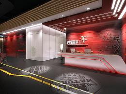 线条主题健身房装修设计