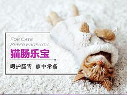 宠物营养品海报手机端