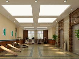 济南省立五院康复科室内设计