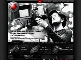 red.com的第一代网站设计