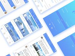 Putong Work UI Design