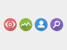 扁平图标 Flat icons