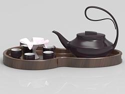 行云流水——茶具设计