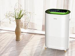 空气净化器产品设计,在冬季雾霾来临前,保护好家人
