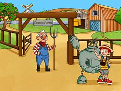 儿童插画-农场