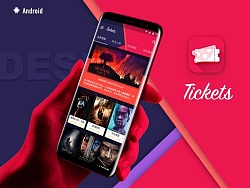 Tickets Material Design