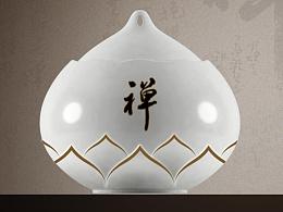 禅茶—包装器皿设计