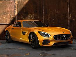 Mercedes-AMG GT渲染