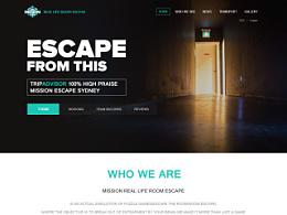 国外密室逃脱网站设计