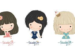 星期六女孩(SATURDAY GIRL)本册设计全系列