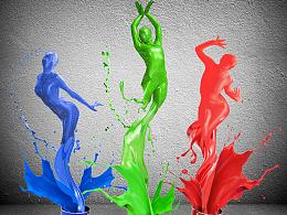 舞动的油漆