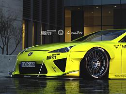 MbyteArtStudio Lexus 2010 LF-A Widebodykit Design