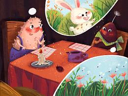 儿童绘本-《种子的故事》