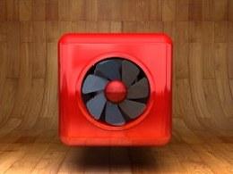 3D动态图标:风扇附制作过程