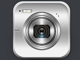 相机icon练习——扁平设计&半写实风格