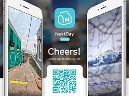 NEXTDAY iOS App Design Ver4.5