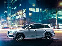奥迪Q7新车发布图片拍摄