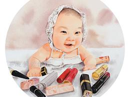 """坐拥""""江山"""" 精致女孩从小开始哦~"""