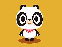 卡通形象(熊猫)