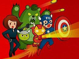 《Avengers-Cosplay-FUTU》