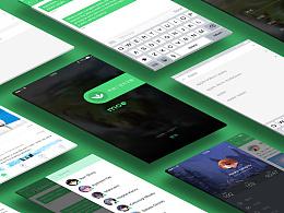 Moe App UI UX 设计