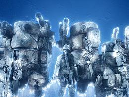 Frozen Army 玩具摄影