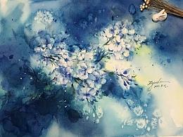 最近的练习,花卉和人物的涂鸦。