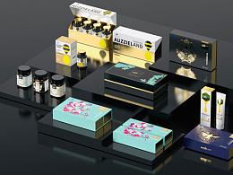 Auzzie Land澳蜂原产品包装设计