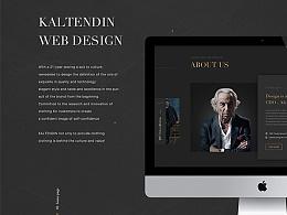 Kaltendin官网设计