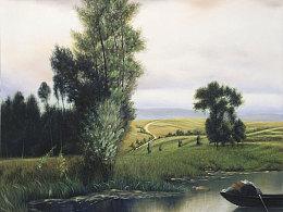 诗与远方油画作品系列之一