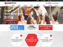出出国项目官网设计