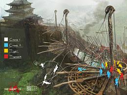 《长城》道具设计——飞索