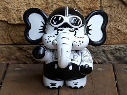 壹基金大象紋身象比利