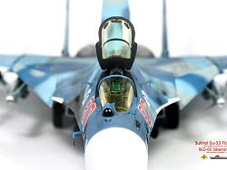 """1/72 俄羅斯海軍 蘇-33 海側衛 """"紅色80"""""""
