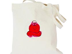 水墨画者---帆布包