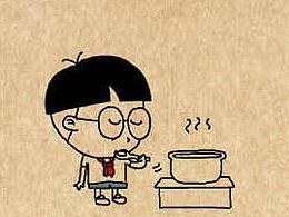 小明漫画——汤糖躺烫