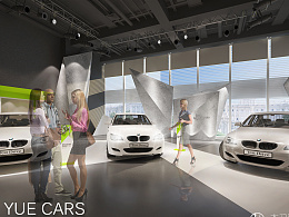 LING YUE CARS 室内空间设计
