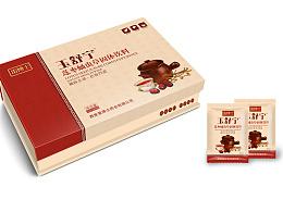 保健品包装 固体饮品包装 妇科冲剂包装 红枣莲子冲剂包装设计 功能性饮品包装设计/