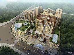 乐山四星主题文化酒店设计