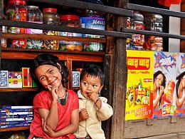 游走尼泊尔——棚户区的她们
