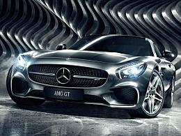 CGI摄影 Mercedes-AMG GT
