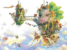 【童画世界 by 雪娃娃】奇妙又幸福的旅行