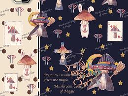 Lolita 柄图-魔法菇菇