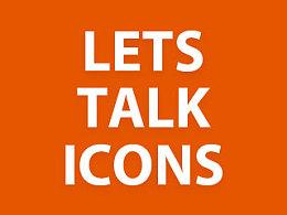 【翻译】Let's talk Icons